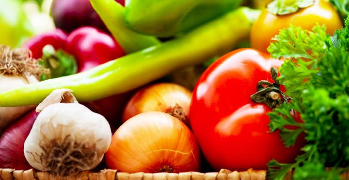 comida vegetais organicos