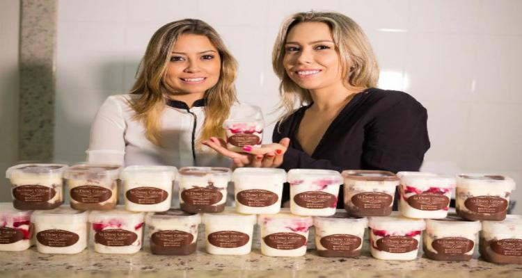 Como duas Irmãs investiram R$ 300 em 'bolos de pote' e viraram empresárias em MG