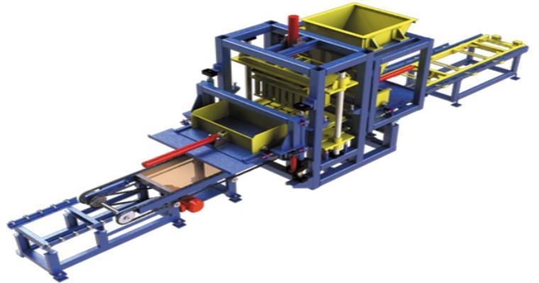 Máquina de Fazer Bloco de Cimento