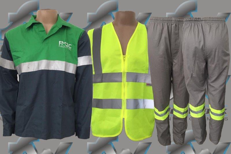 montar confeccao uniformes profissionais